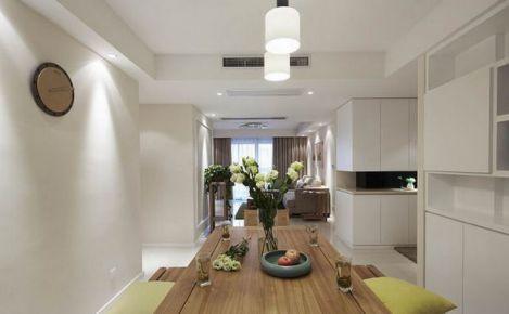 105平简约美式风格小三居装修 美式风格家庭装修案例