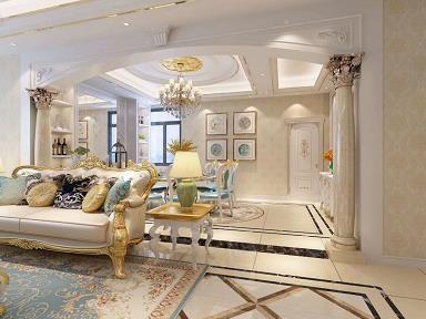欧式风格三房装修 欧式风格家装效果图欣赏