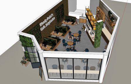 美式咖啡厅装修设计 美式风咖啡厅装修效果图