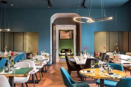 【名设网公装设计平台】上海BRUNATI餐厅设计效果图