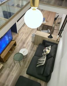 日式小阁楼装修设计 日式风格家庭装修效果图