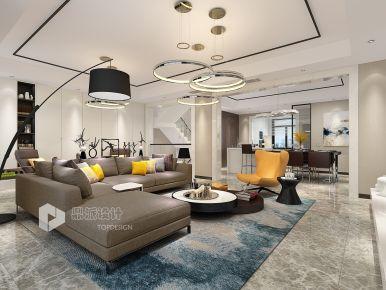 现代轻奢三房装修设计 现代轻奢家庭装修效果图