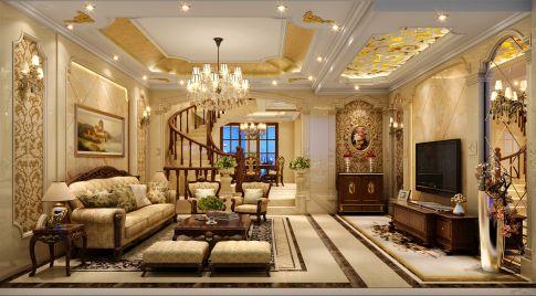 中式风格别墅装修案例
