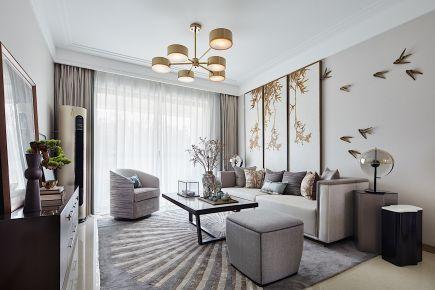 诠释都市人向往的生活-中式风格三居室装修案例