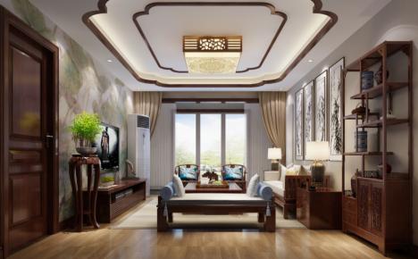 新中式四居室装修案例