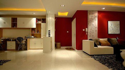 现代简约三房装修 现代简约家庭装修效果图