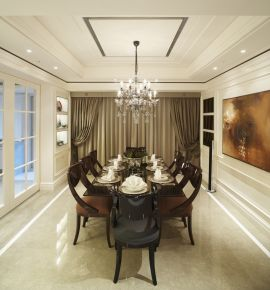 欧式风格三房装修效果图 欧式风格家庭装修案例