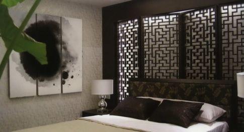 新中式风格家庭装修设计 三居室新中式风格装修效果图