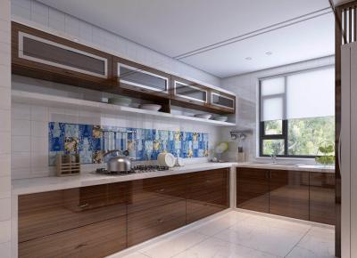 西安曲江香都 现代风格三房装修设计效果图