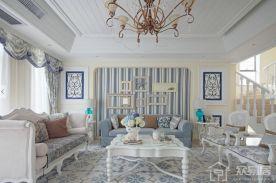 地中海风家庭装修效果图欣赏 地中海风格三房装修设计