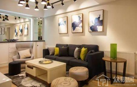 现代风格两房装修设计欣赏 现代风格家庭装修效果图