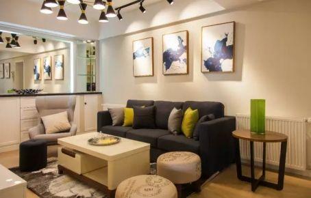 太原火山小区 现代风格家庭装修效果图