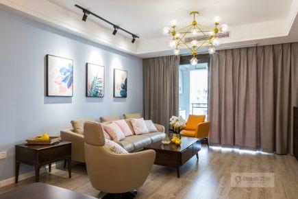 重庆盛世北辰|三居室|北欧风格|装修实景图