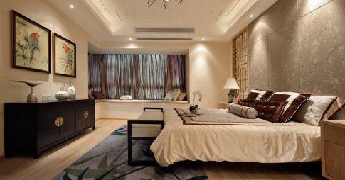珠海五洲花城 现代风格三房装修设计效果图