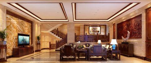 传统中式风格别墅装修设计 传统中式别墅装修效果图