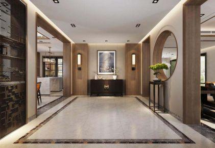 徐州玫瑰园 中式风格别墅装修设计效果图
