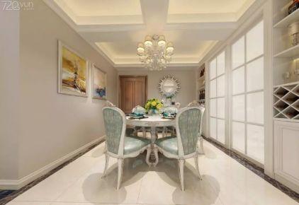 南昌力高滨湖国际 欧式风格四房装修设计效果图