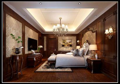 南昌保利高尔夫 欧式风格别墅装修设计案例