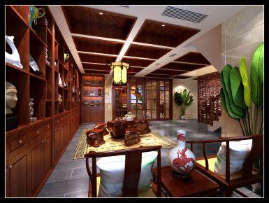 南昌壹号公馆 创意混搭风格四房装修设计