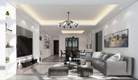 现代风格三房装修设计 现代风格家庭装修案例