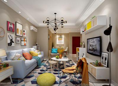 象屿珑庭简约风格两居室装修案例