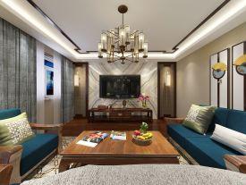 新中式风格家庭装修 新中式风格复式楼装修效果图