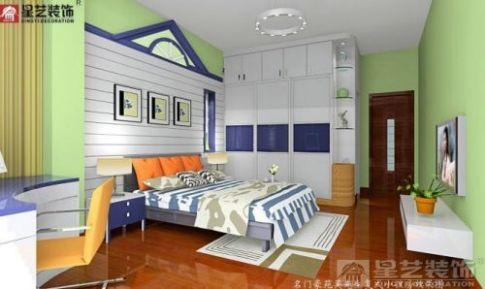 现代风格两居室装修 现代风格家庭装修设计案例