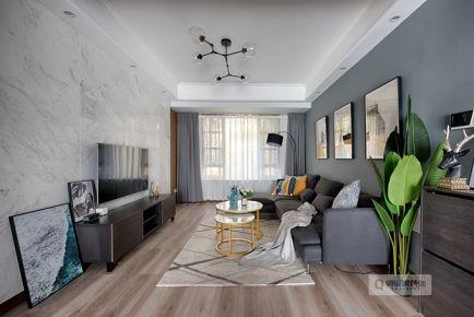 重庆凡尔赛|三居室|北欧风格装修实景图