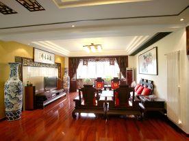 古典大气的中式三居室装修 中式风格三房装修效果图
