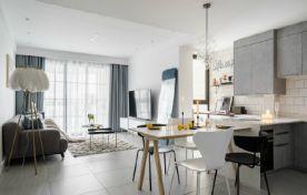 80㎡网红ins风家居设计,省钱又漂亮的装修案例,简约精致有格调!