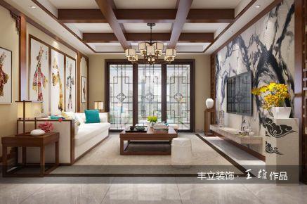贵阳丰立装饰-未来方舟128㎡-中式风格装修效果图