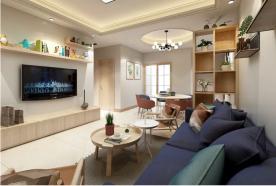 现代风格两房家装设计 现代风格家庭装修效果图