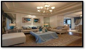 美式乡村复式装修设计 美式风格家庭装修效果图