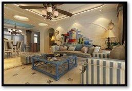 现代简约风格三房装修 现代风格家庭装修效果图