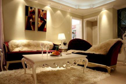 浪漫简欧风家庭装修效果图 简欧风格三房装修设计