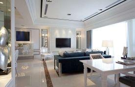欧式田园风格装修效果图 欧式风格三房装修设计