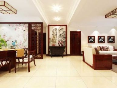 新中式风格装修效果图 新中式风格家庭装修案例