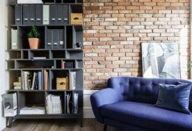 工业风格两房装修效果图 工业风格家庭装修设计