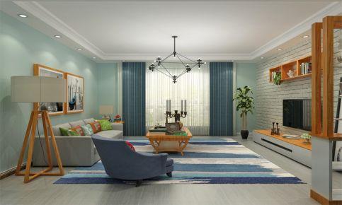 沈阳丽景城装修效果图 现代风格两房家庭装修案例