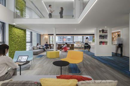 办公室设计平面图|现代办公室空间设计理念分析|名设网办公空间设计平台