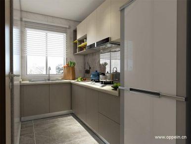 伯爵现代雅典二居室装修  现代风格两房装修效果图