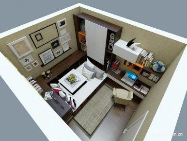 新中式风格三房设计案例 新中式风格家庭装修效果图