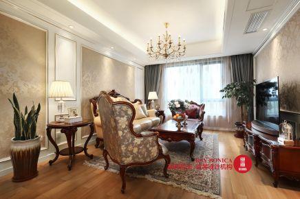南京江湾城 欧式风格三房装修设计效果图