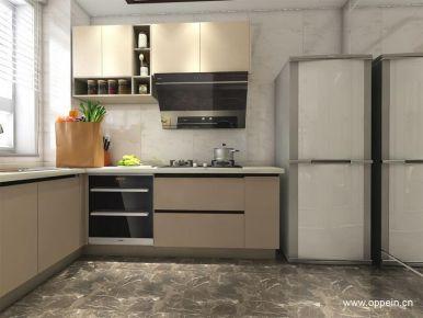 卡尔顿纯白世界三居室装修 现代风格三房家庭装修案例