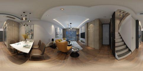 金都海尚国际现代设计 现代风格四房装修效果图