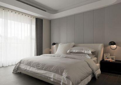 灰色空间现代风格三房装修 现代风格灰色系装修效果图