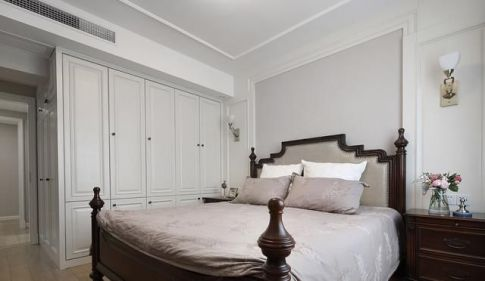 雅舍 美式风格三房家庭装修设计效果图