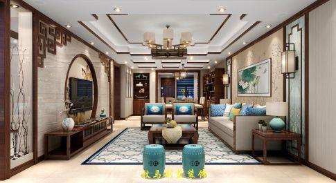 泰盛绿岛—新中式别墅装修 中式风格别墅装修设计