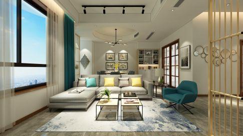 湖西玲珑—现代简约装修 现代简约别墅装修设计效果图