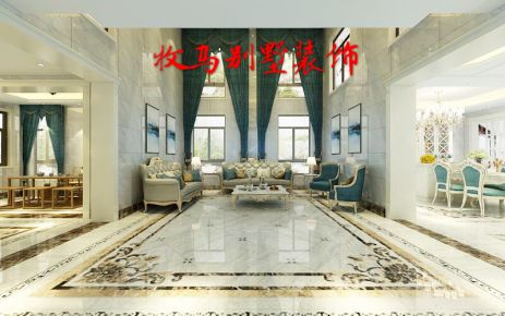 东山自建别墅—欧式风格装修  欧式风格别墅装修设计案例